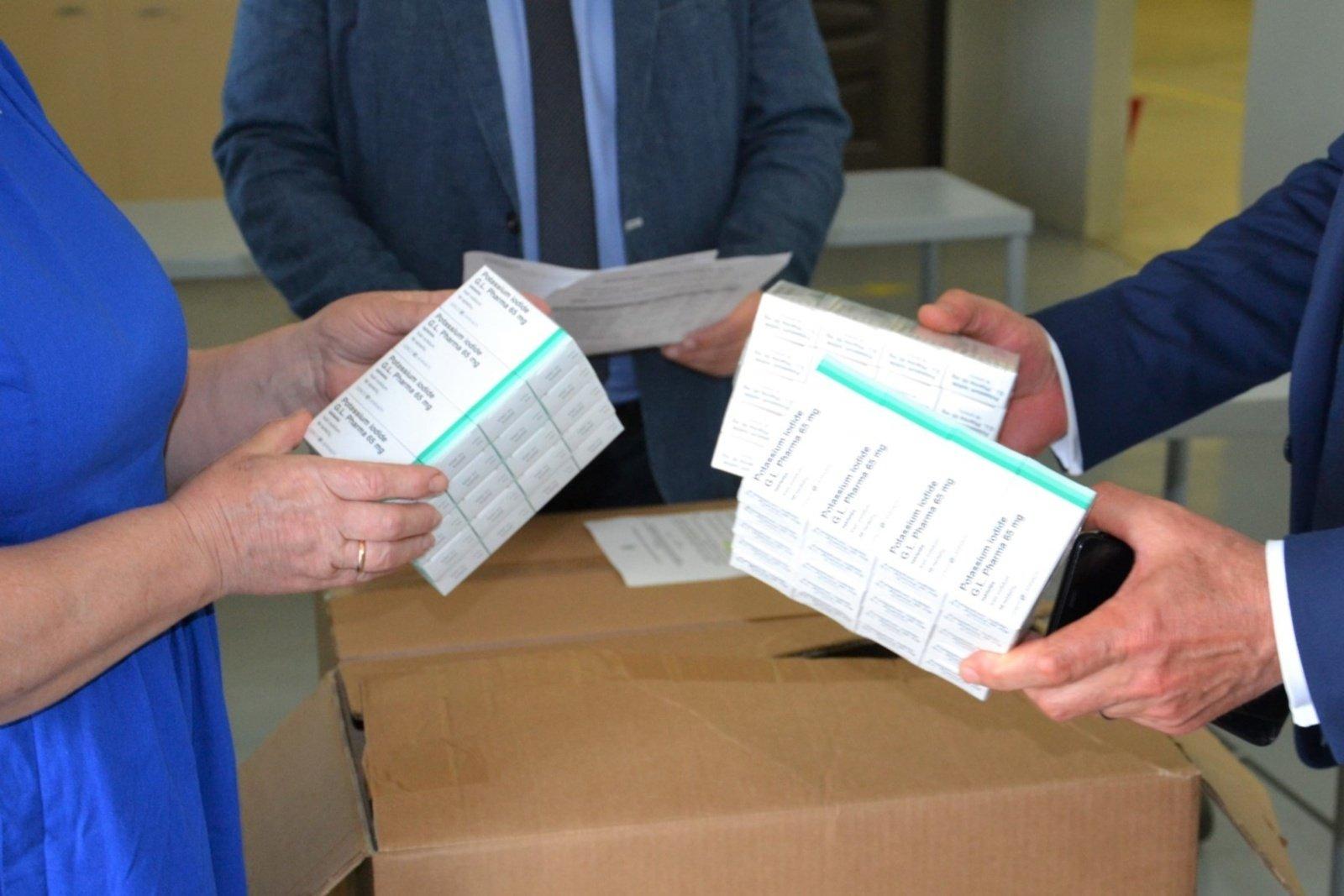 Kalio jodido tabletės bus dalijamos visiems Trakų rajono gyventojams