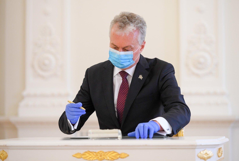 Prezidentui atlikta profilaktinė sveikatos patikra: sveikatos būklė yra gera