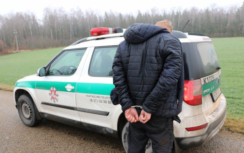 Jonavoje sulaikytas ir narkotines medžiagas platinęs vyras, ir jomis disponavę kiti du asmenys