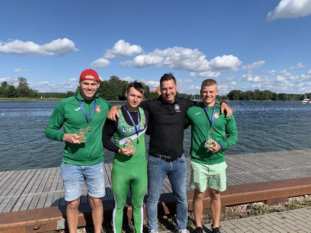 Panevėžio irkluotojai – tarp Lietuvos čempionato geriausiųjų