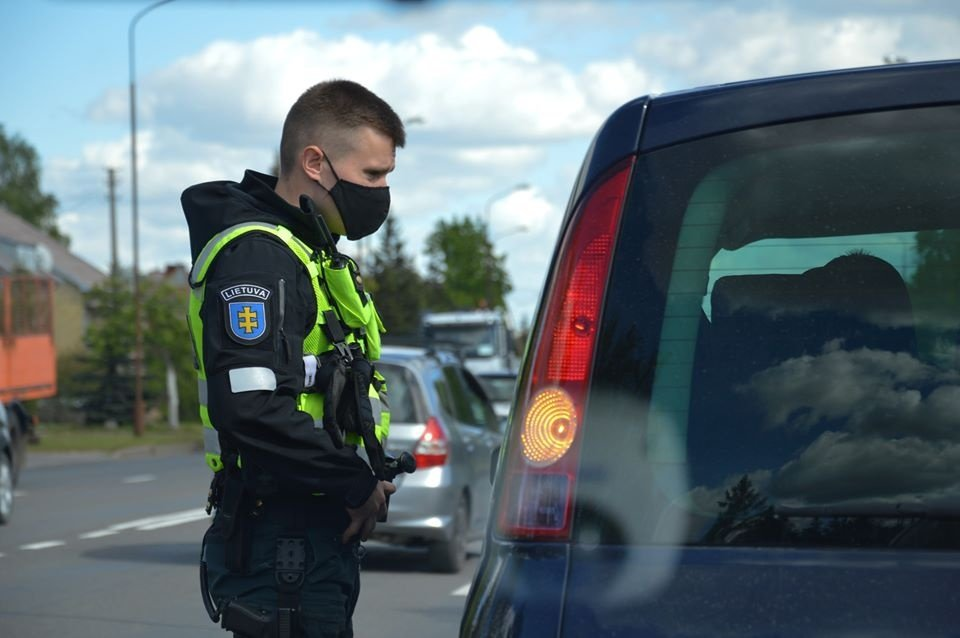 Marijampolės policija ieško eismo įvykių liudininkų