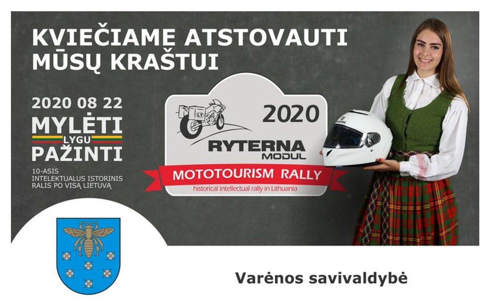 Kviečia į 10-ąjį intelektualų istorinį ralį po visą Lietuvą