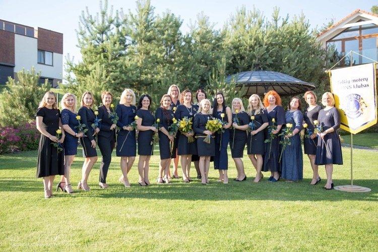 Inauguruota septintoji Telšių moterų LIONS klubo prezidentė