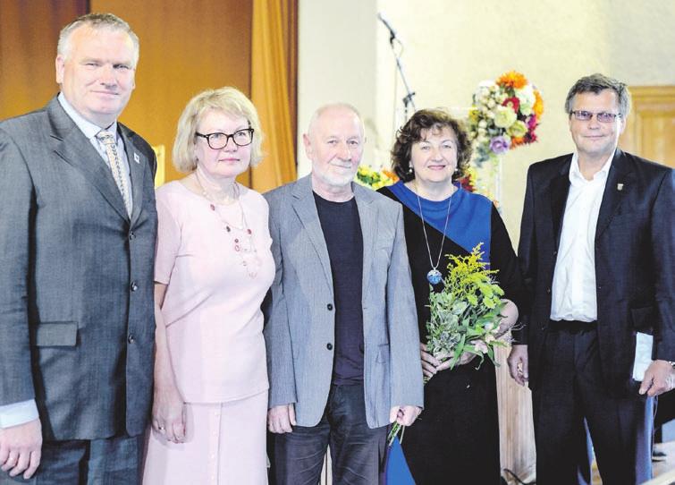 Rumšiškėse įteikta Jono Aisčio literatūros premija