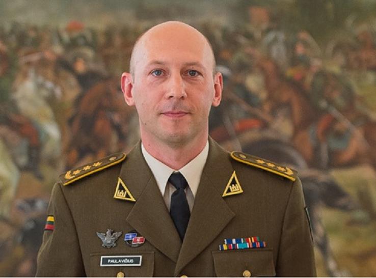 Lietuvos karinės žvalgybos vadu paskirtas plk. E. Paulavičius