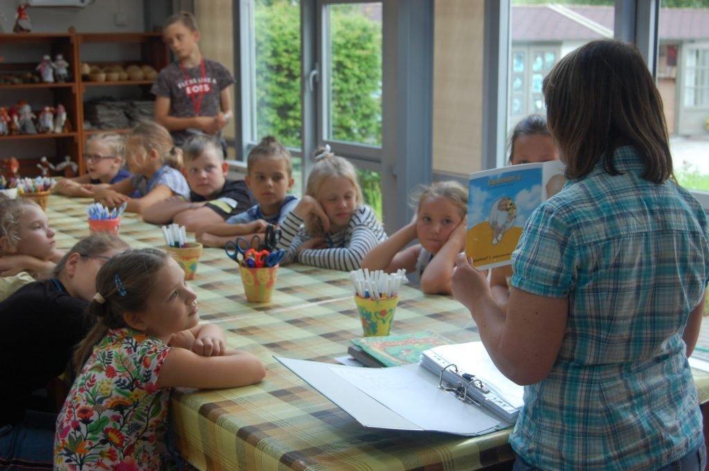 Kretingos muziejuje – prasmingas vaikų laisvalaikis