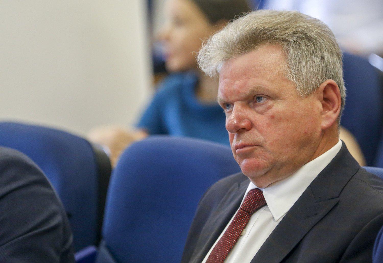 """J. Narkevičius apie uosto ir """"Lietuvos geležinkelių"""" darbą: dėl situacijos Baltarusijoje grėsmių nėra"""