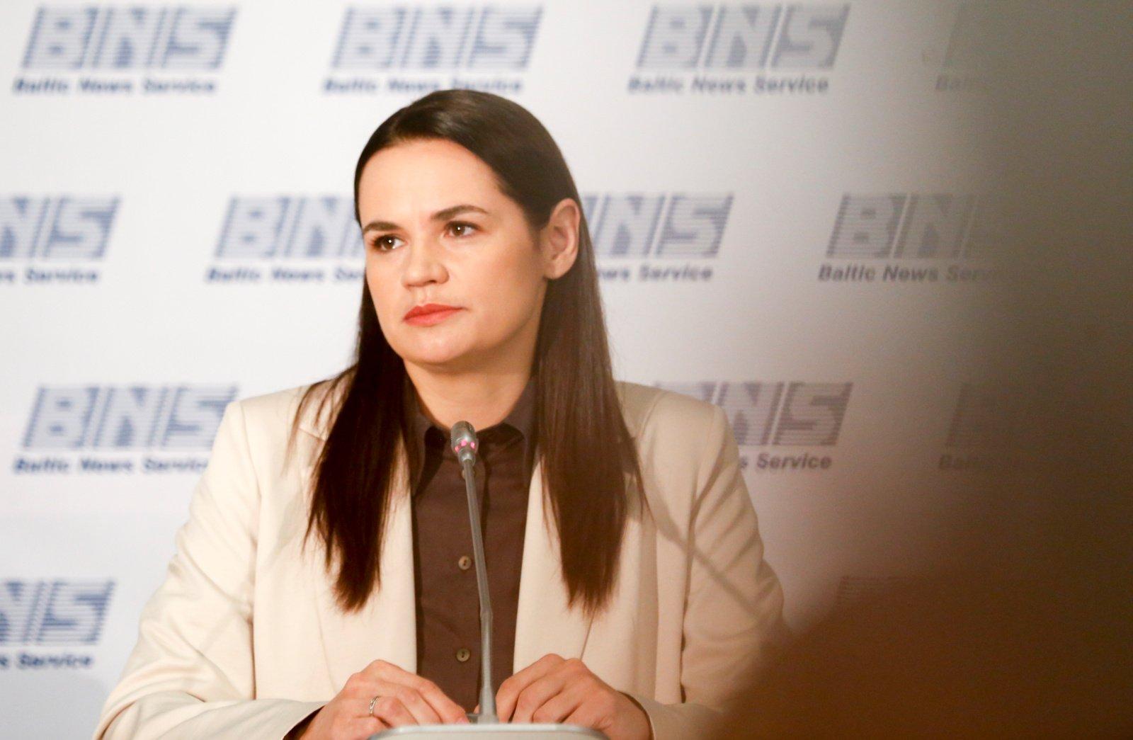 S. Cichanouskaja: grįšiu į Baltarusiją, kai jausiuosi ten saugi