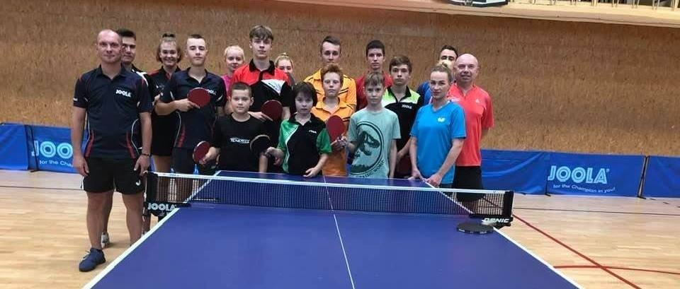Vilniaus rajono stalo tenisininkai vasarą leido aktyviai