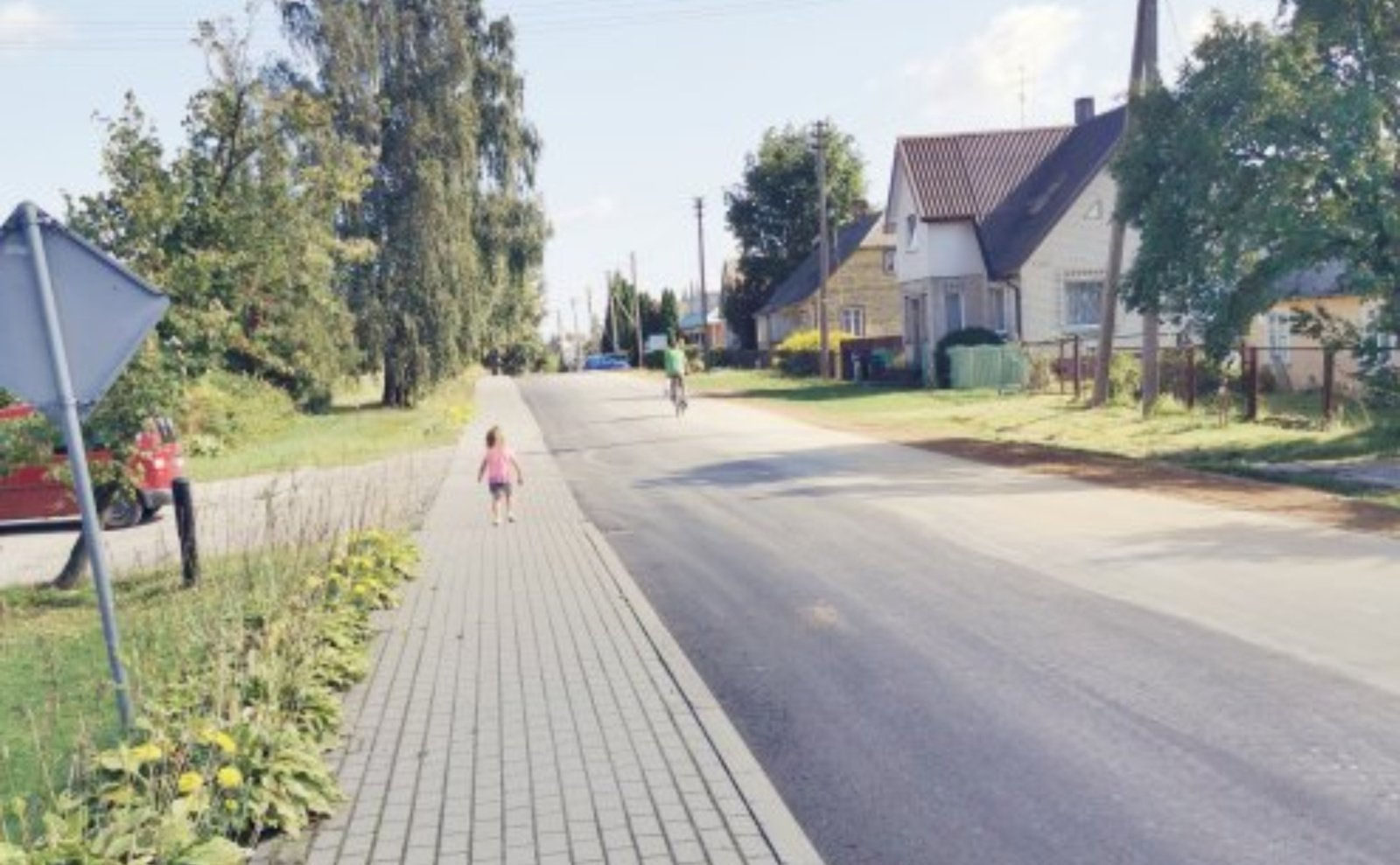 Šeštokai gražėja – baigiama atnaujinti viena pagrindinių miestelio gatvių
