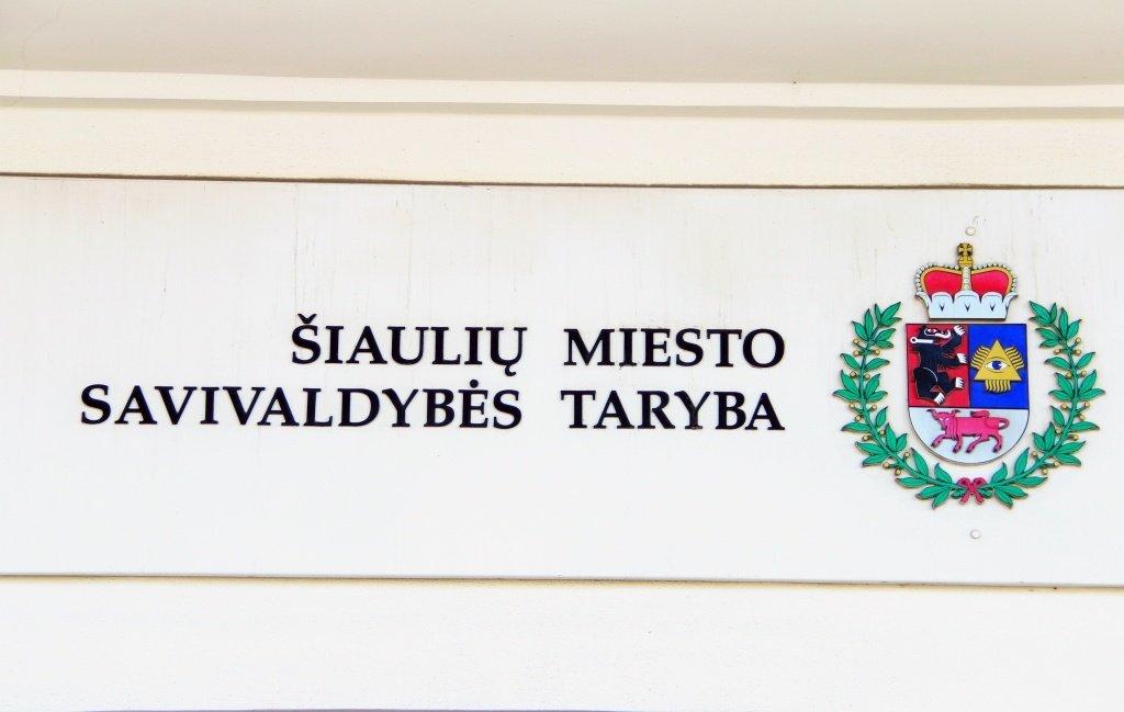 Dėl rugsėjo 3 d. Šiaulių miesto savivaldybės tarybos posėdžio