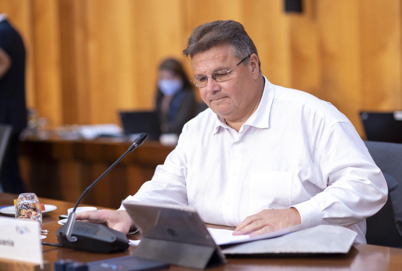 L. Linkevičius: taikus valdžios perdavimas ir nauji demokratiniai rinkimai gali išvesti Baltarusiją iš aklavietės