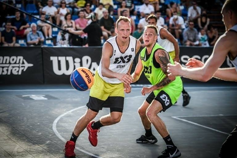 """""""Juventus-Uniclub Casino"""" sėkmė FIBA 3x3 pasaulinio turo etape"""