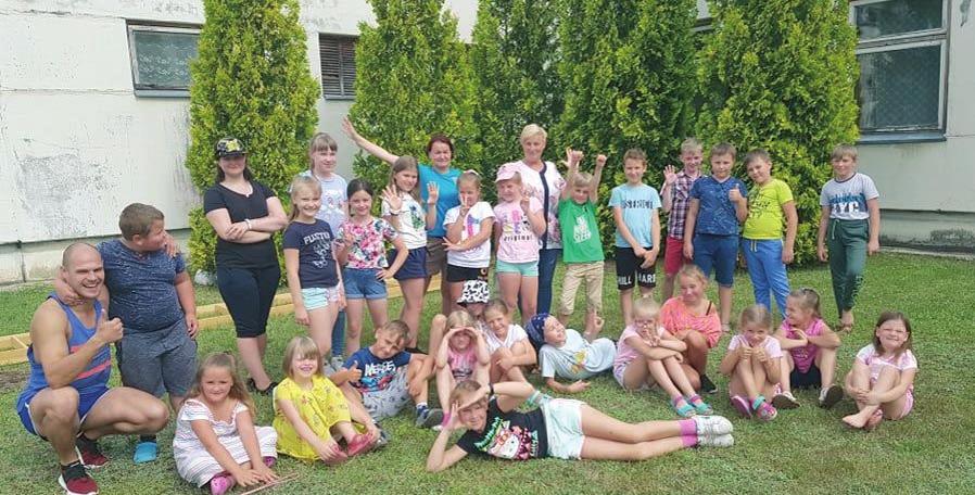 Vasaros atradimai stovykloje Zūbiškėse