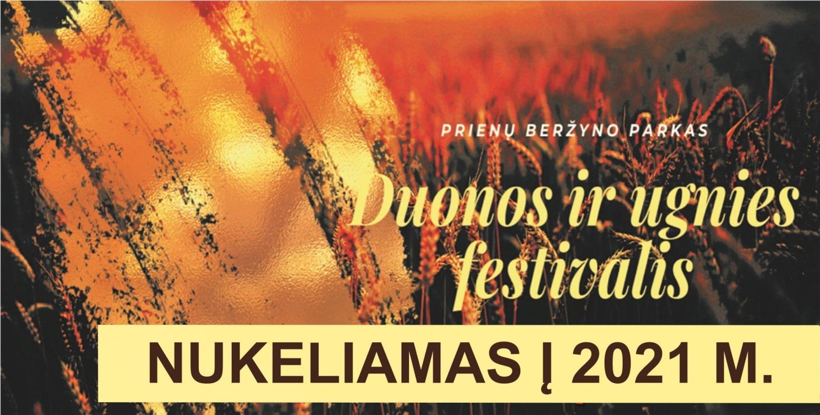Duonos ir ugnies festivalis šiemet neįvyks