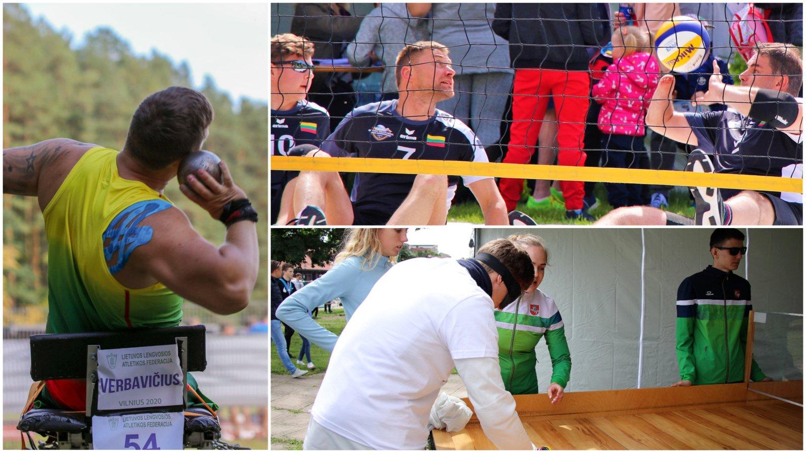 Druskininkuose – paralimpinio sporto rungtys