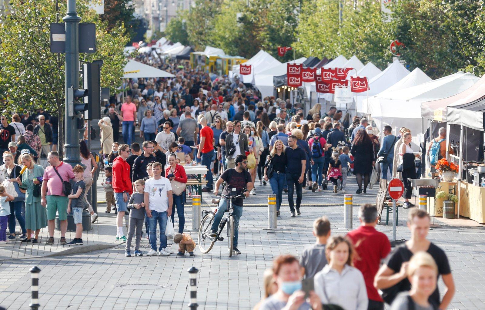 """Vilniuje baigiasi prasmingų pramogų kupina šventė """"Sostinės dienos"""""""