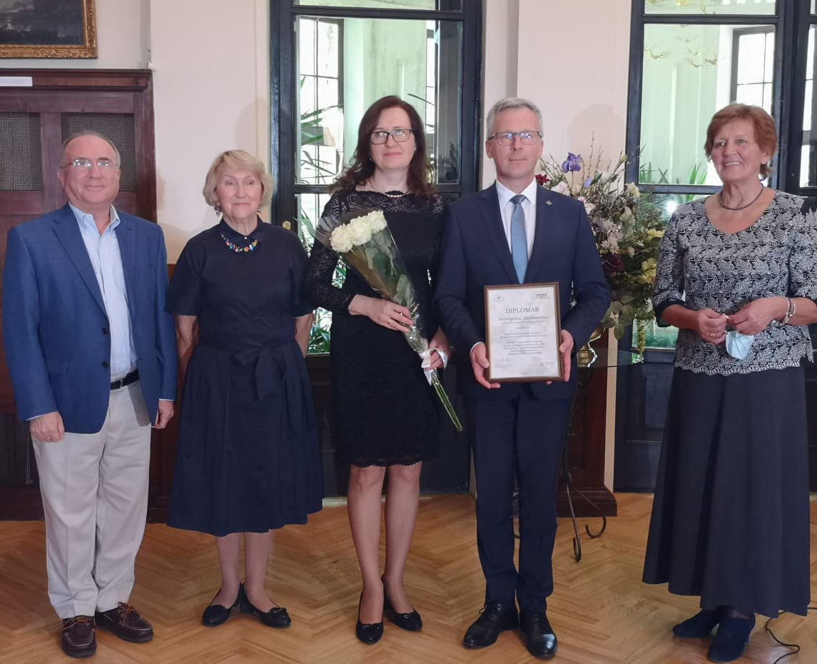 Jurbarko merui įteikta Ruvino Būno vardo premija
