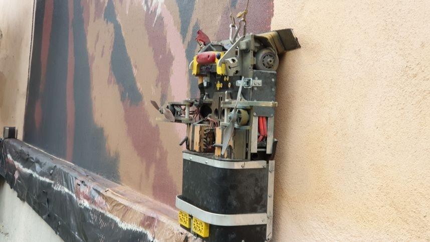 Roboto įgyvendintas meno kūrinys atgijo Merkinėje