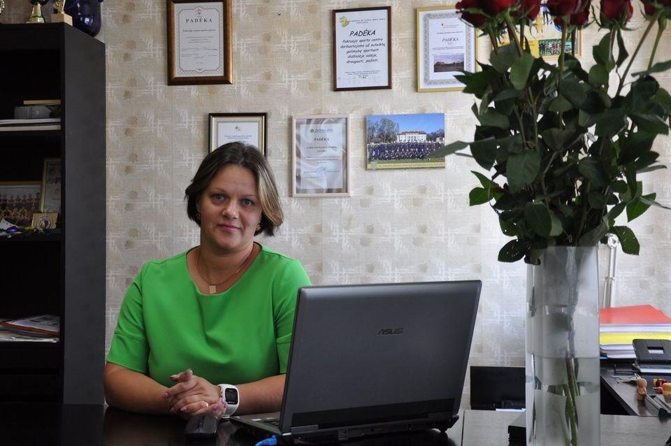 Pakruojo rajono sporto centro direktorės pareigas eiti pradėjo Aušra Dvelienė