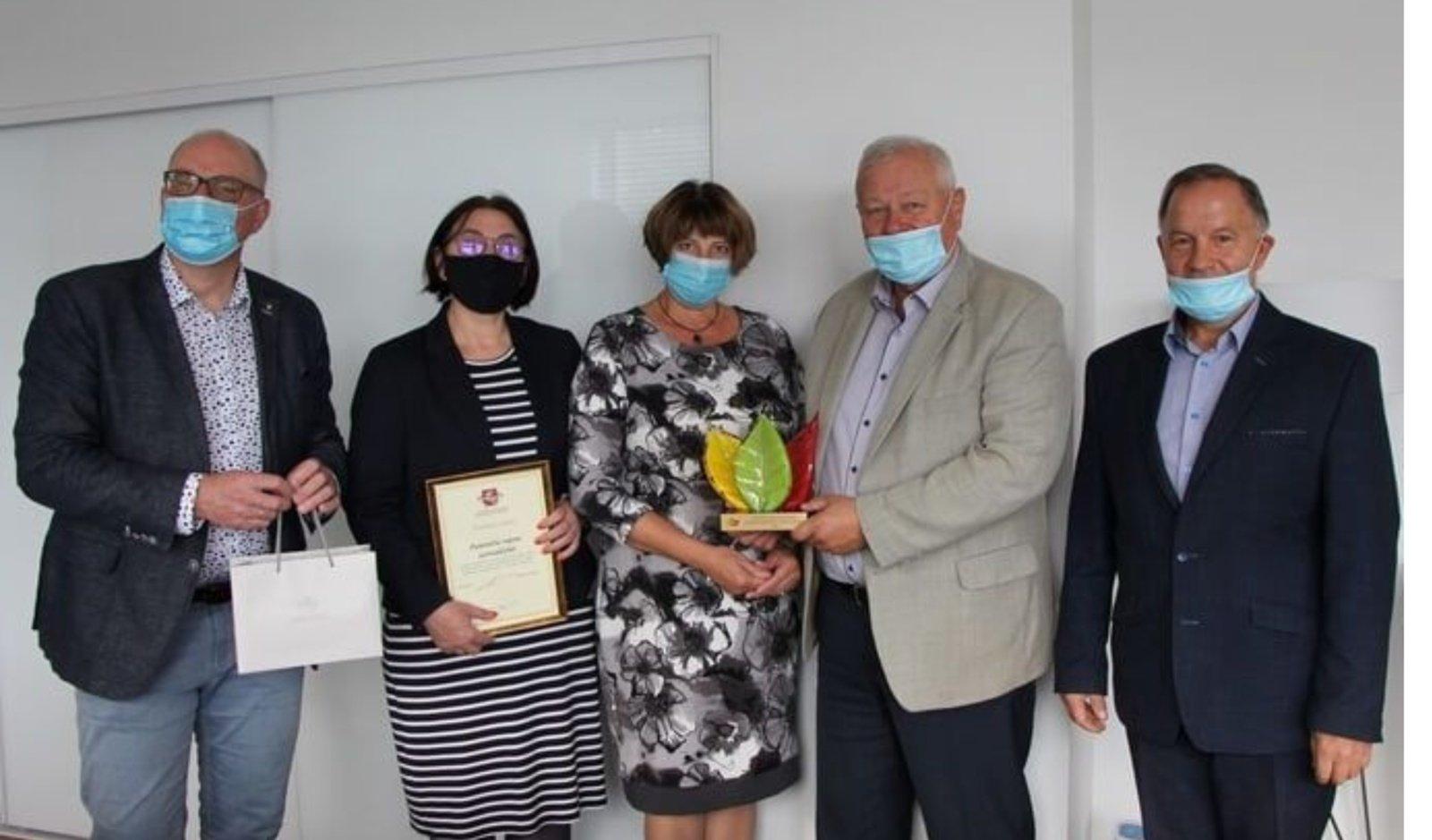 Kokybiško maisto konferencijoje – apdovanojimai Panevėžio rajono savivaldybei