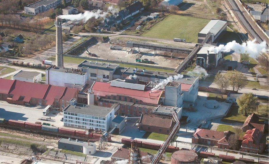 Marijampolės cukraus fabrikas veikia įprastu režimu