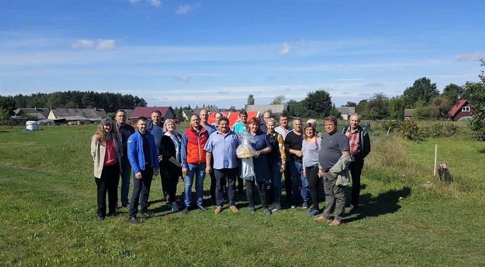 Skuodo rajono ūkininkai lankėsi Kupiškio rajone įsikūrusiuose ūkiuose