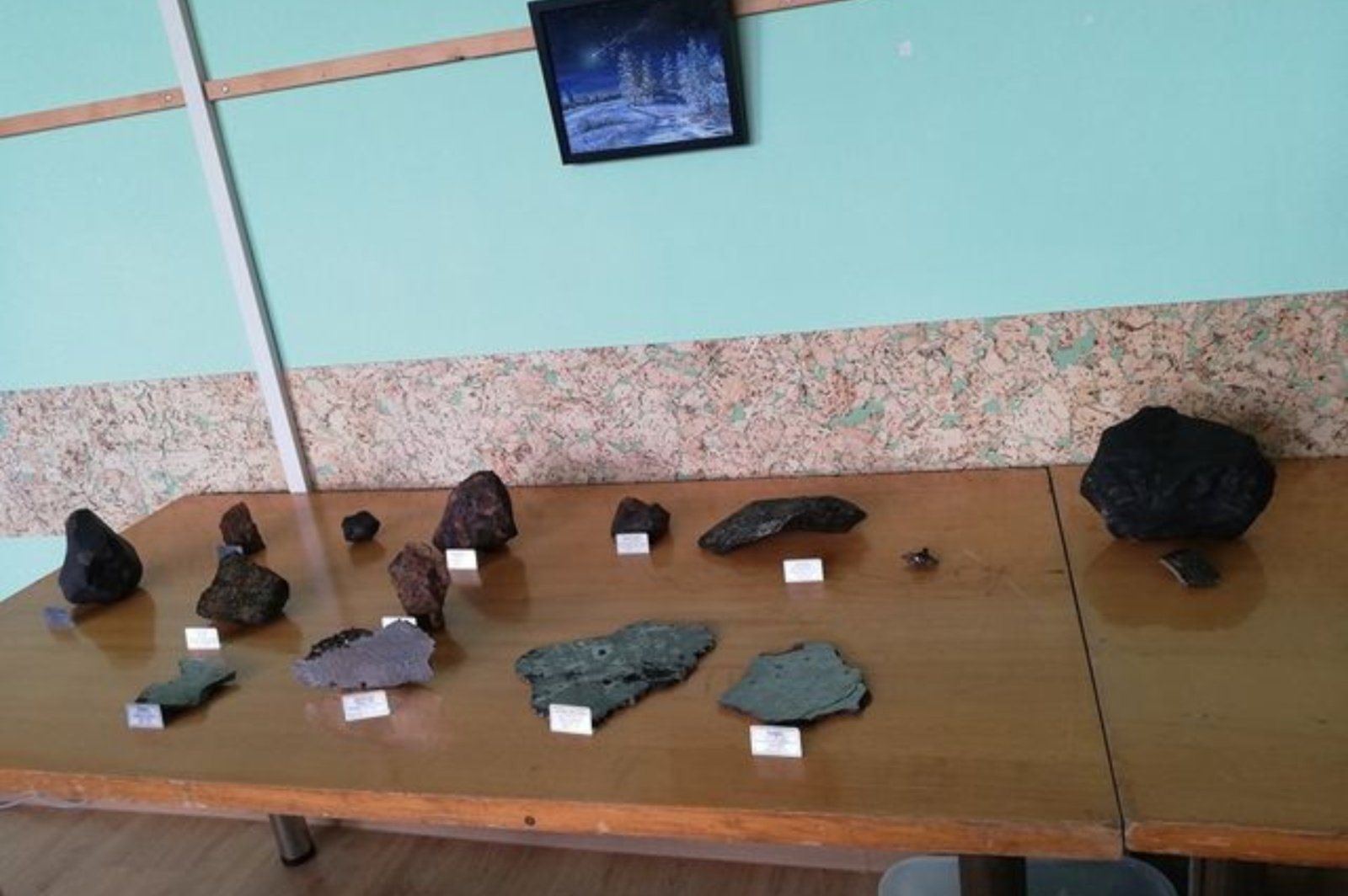 Žemaitkiemyje – keturių dienų pažintis su meteoritais