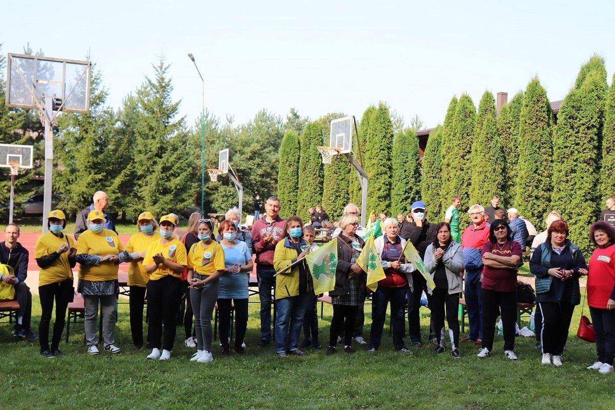 Rajono kaimų bendruomenių sporto žaidynės Palukščio dvare