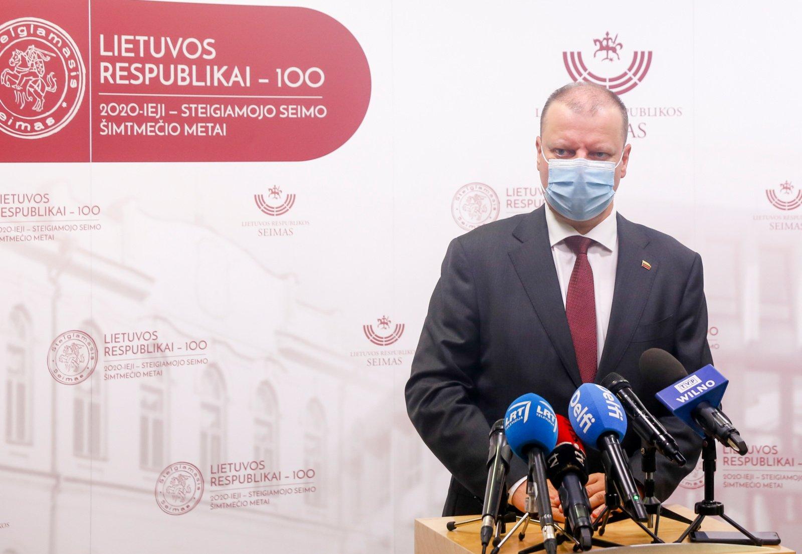 Saulius Skvernelis: skubiai reaguojame į situaciją Šiauliuose ir Radviliškyje
