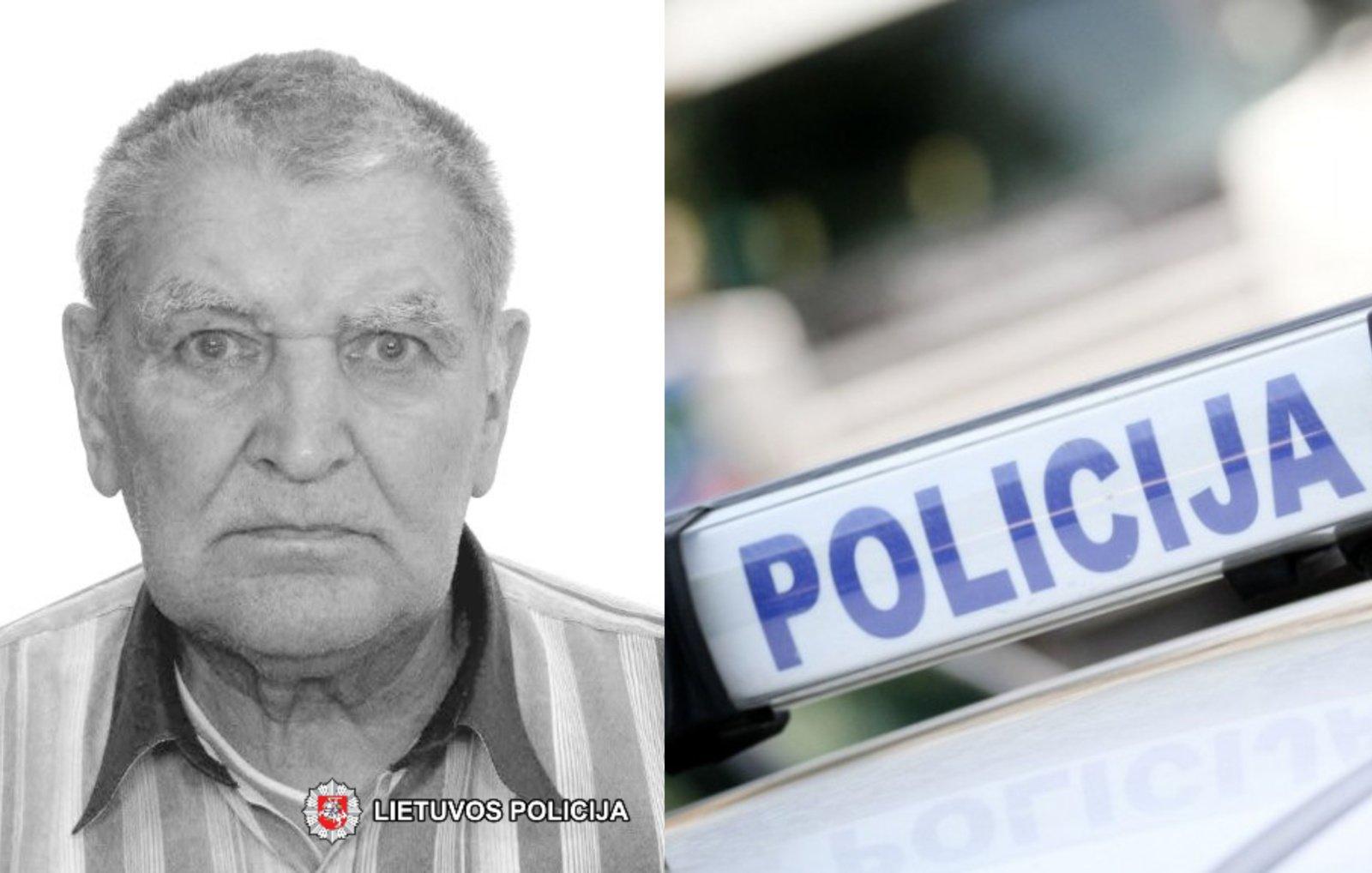 Policija prašo visuomenės pagalbos – dingo septyniasdešimt šešerių metų vyras