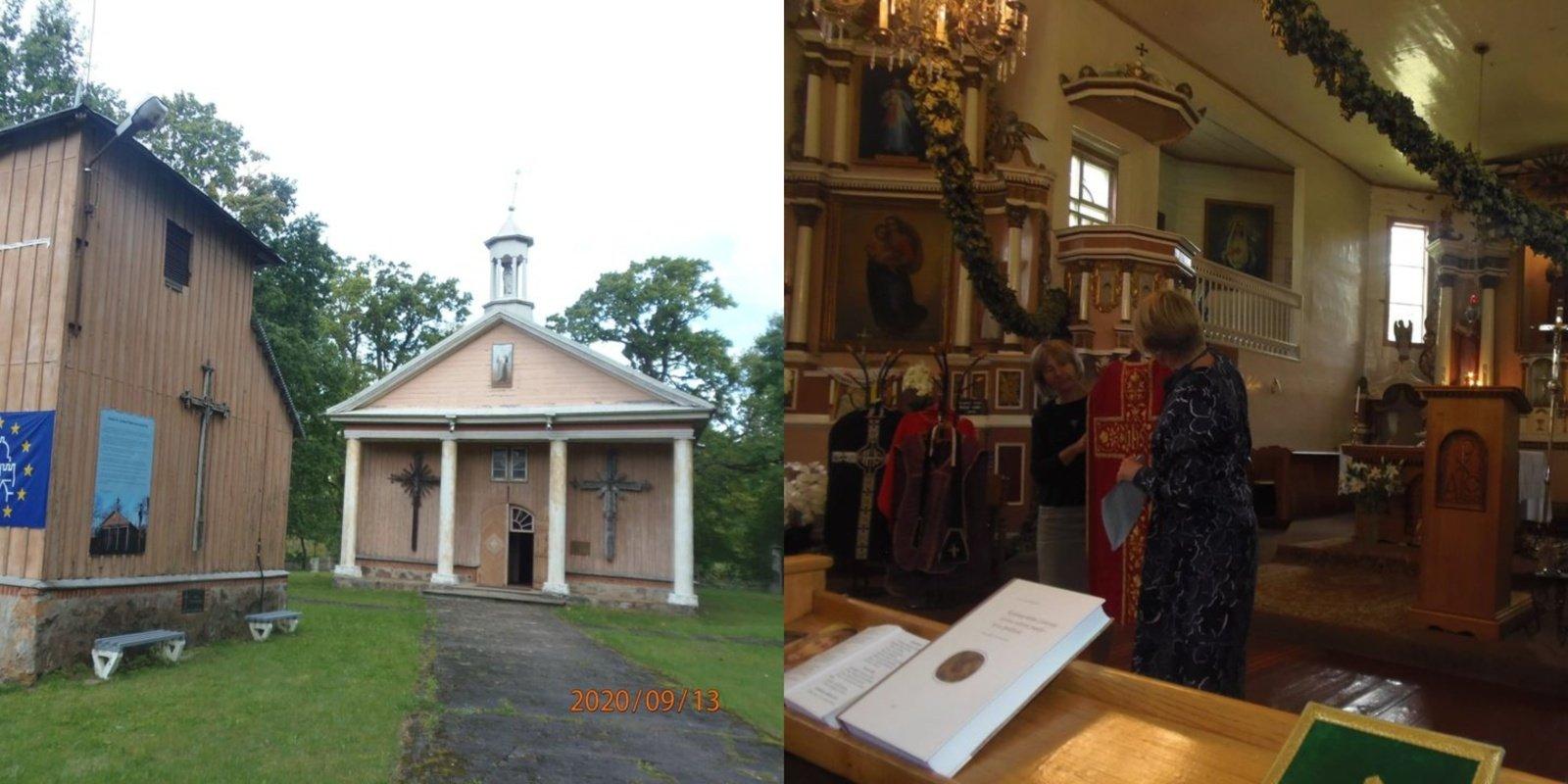 Europos paveldo dienos Stakių bažnyčioje pravėrė duris į parapijos istoriją