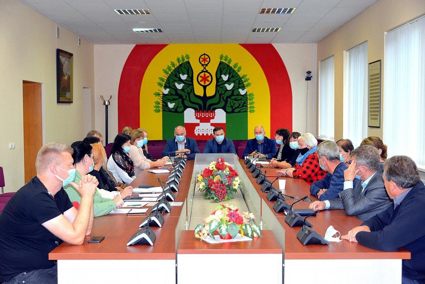 Šilalėje įvyko pasitarimas su VVG atstovais ir bendruomenės nariais