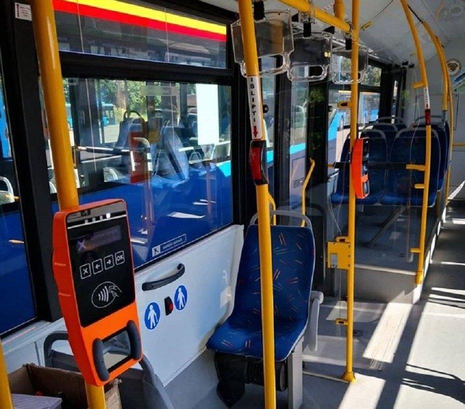 Miesto autobusuose vėl bus parduodami bilietai
