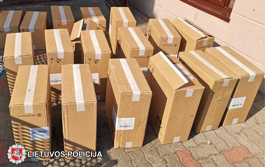 Nelegalios baltarusiškos cigaretės pirkėjų nepasiekė