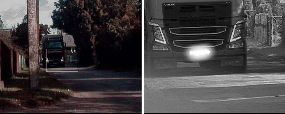 Turgelių gyvenvietėje kontroliuojamas krovininių automobilių greitis