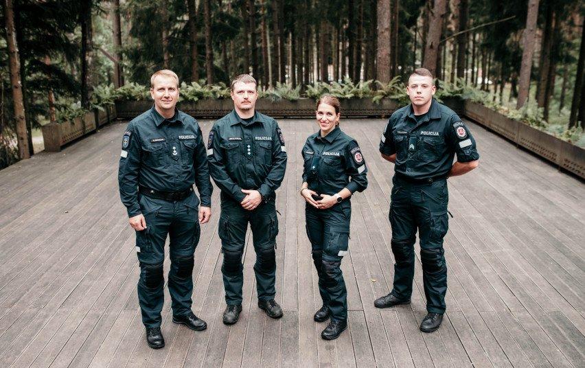Geriausių šių metų policijos pareigūnų konkurse kauniečiai iškovojo antrąją vietą