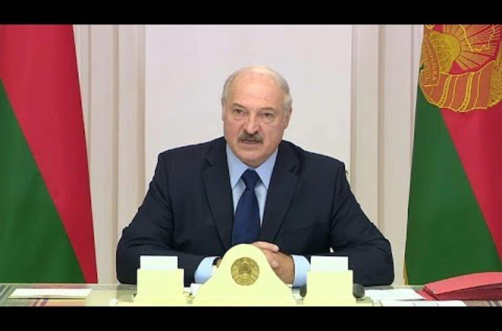 """A. Lukašenka: Baltarusija """"uždaro"""" sieną su Vakarais – pirmiausia su Lietuva ir Lenkija"""