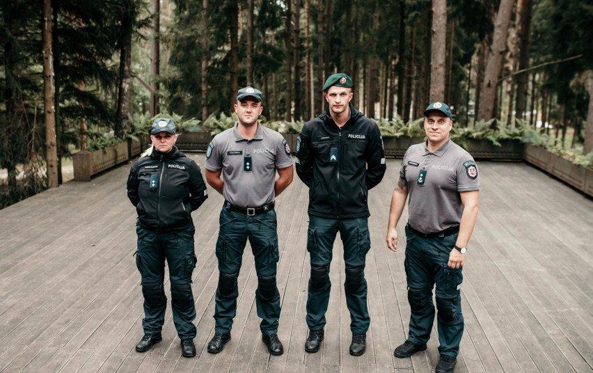Geriausių 2020 metų policijos pareigūnų konkurse vilniečiai užėmė trečiąją vietą