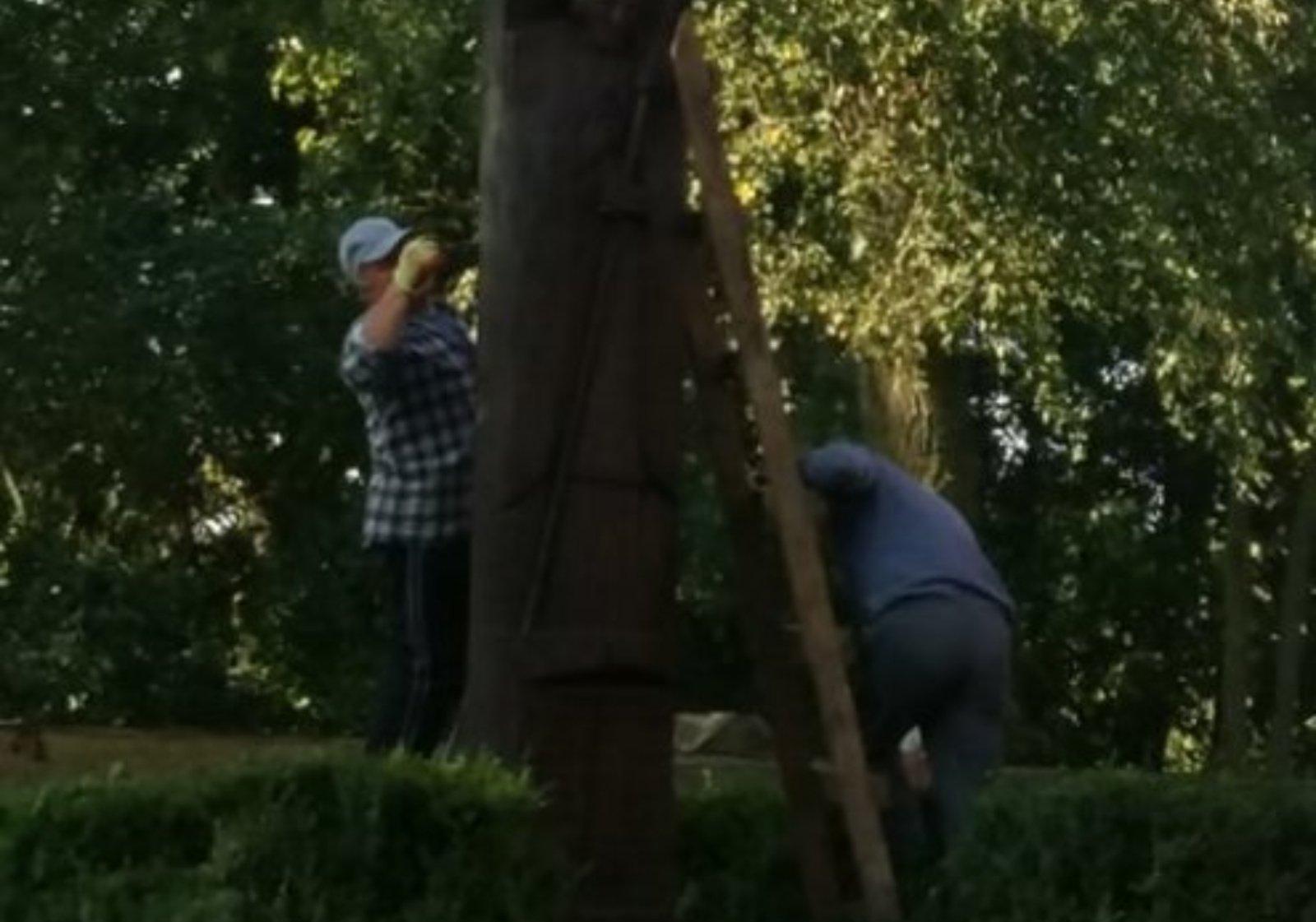 Meškuičių seniūnijoje vykdomi rudeniniai darbai