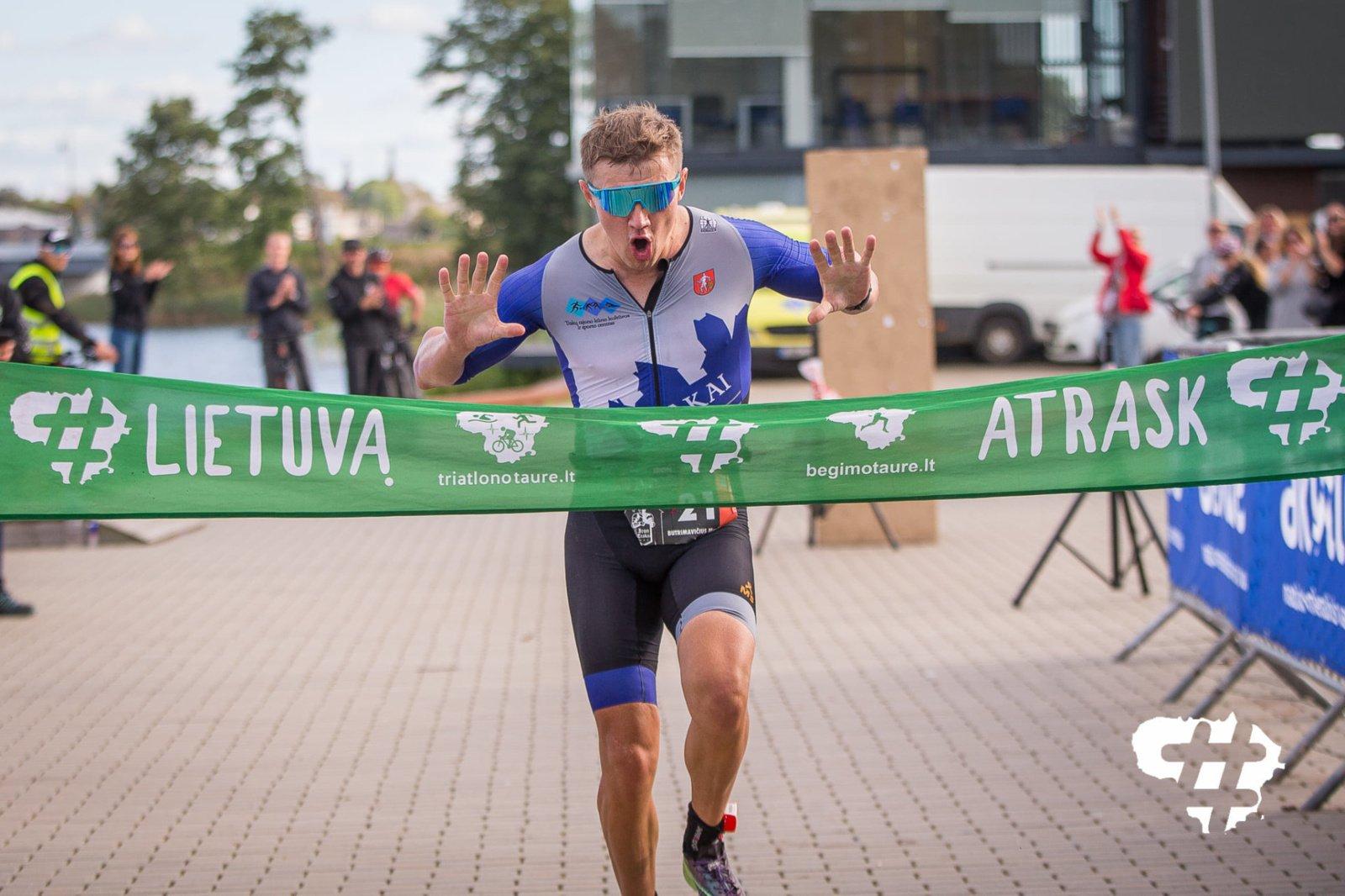 """""""Iron Trakai"""" varžybose – rekordu pažymėta ir abejonių nepaliekanti trasos šeimininko pergalė"""