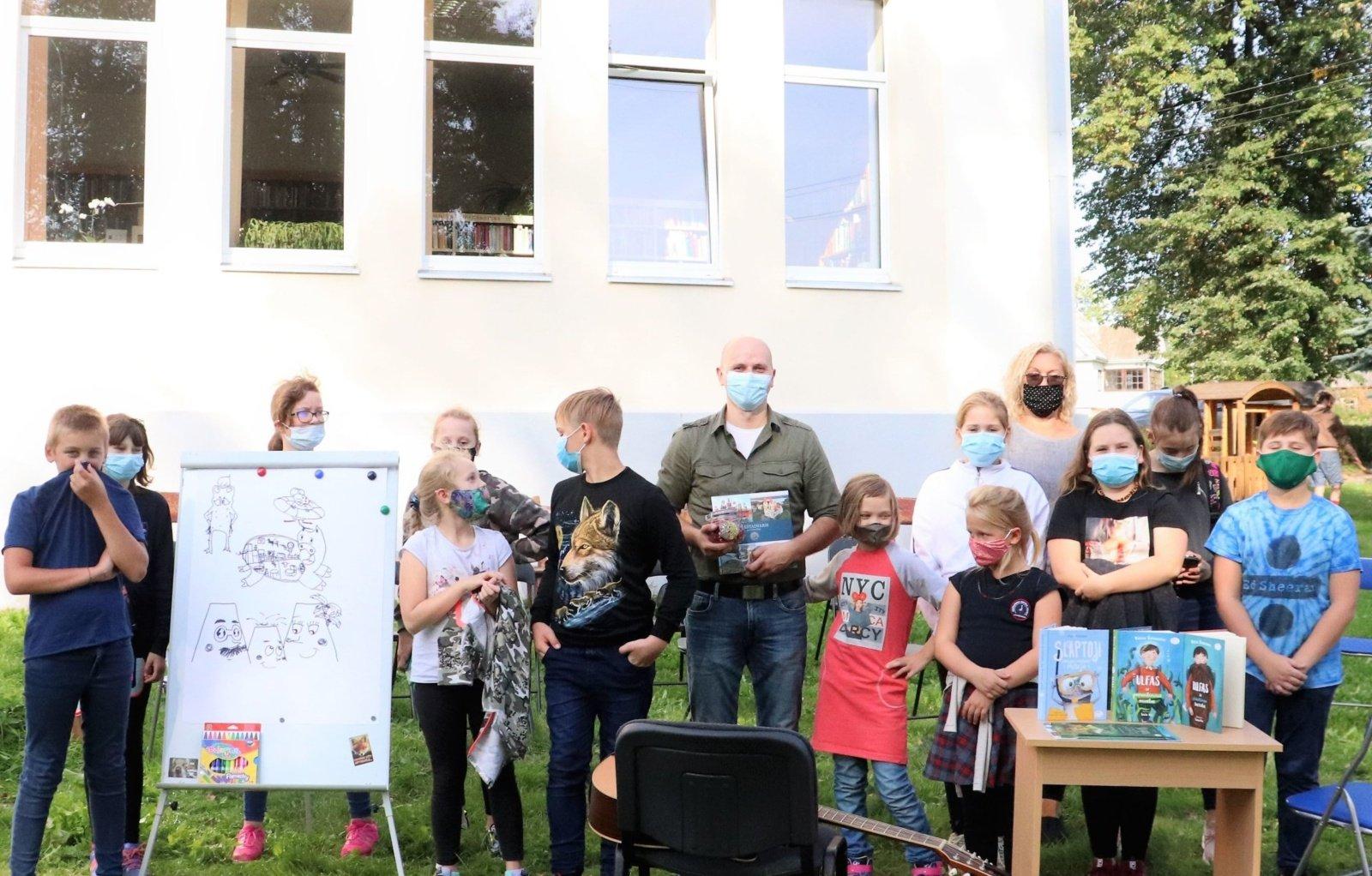 Kelionė fantazijos keliais su rašytoju Virgiu Šidlausku