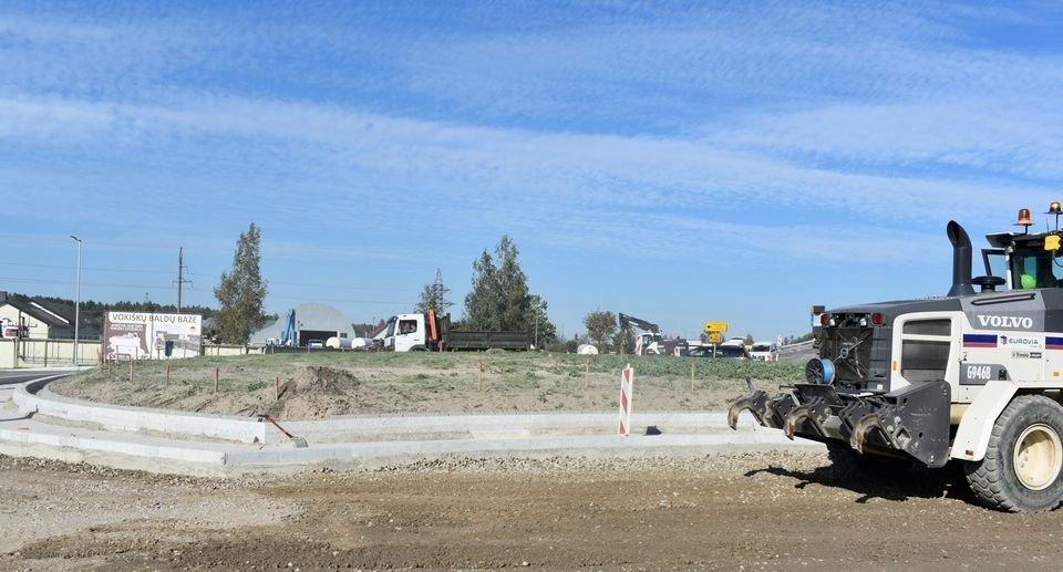 Ketvirtadienį Mažeikiuose bus asfaltuojamas žiedas