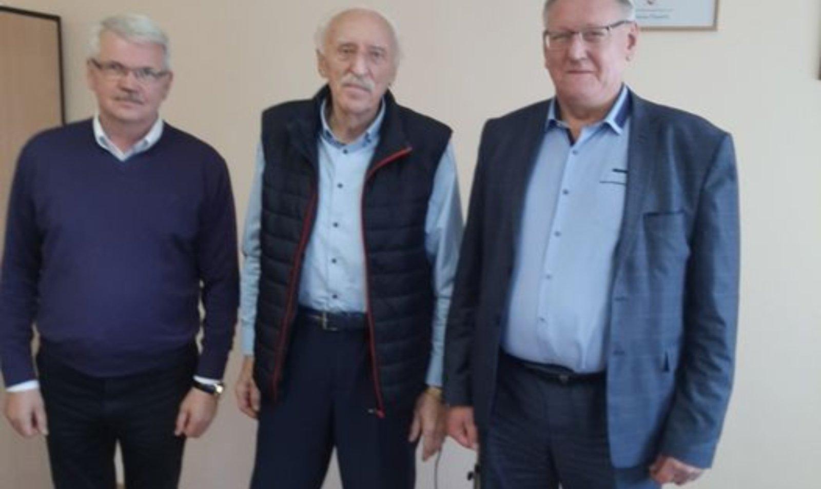 Visagine lankėsi Lietuvos neįgaliųjų sporto federacijos prezidentas