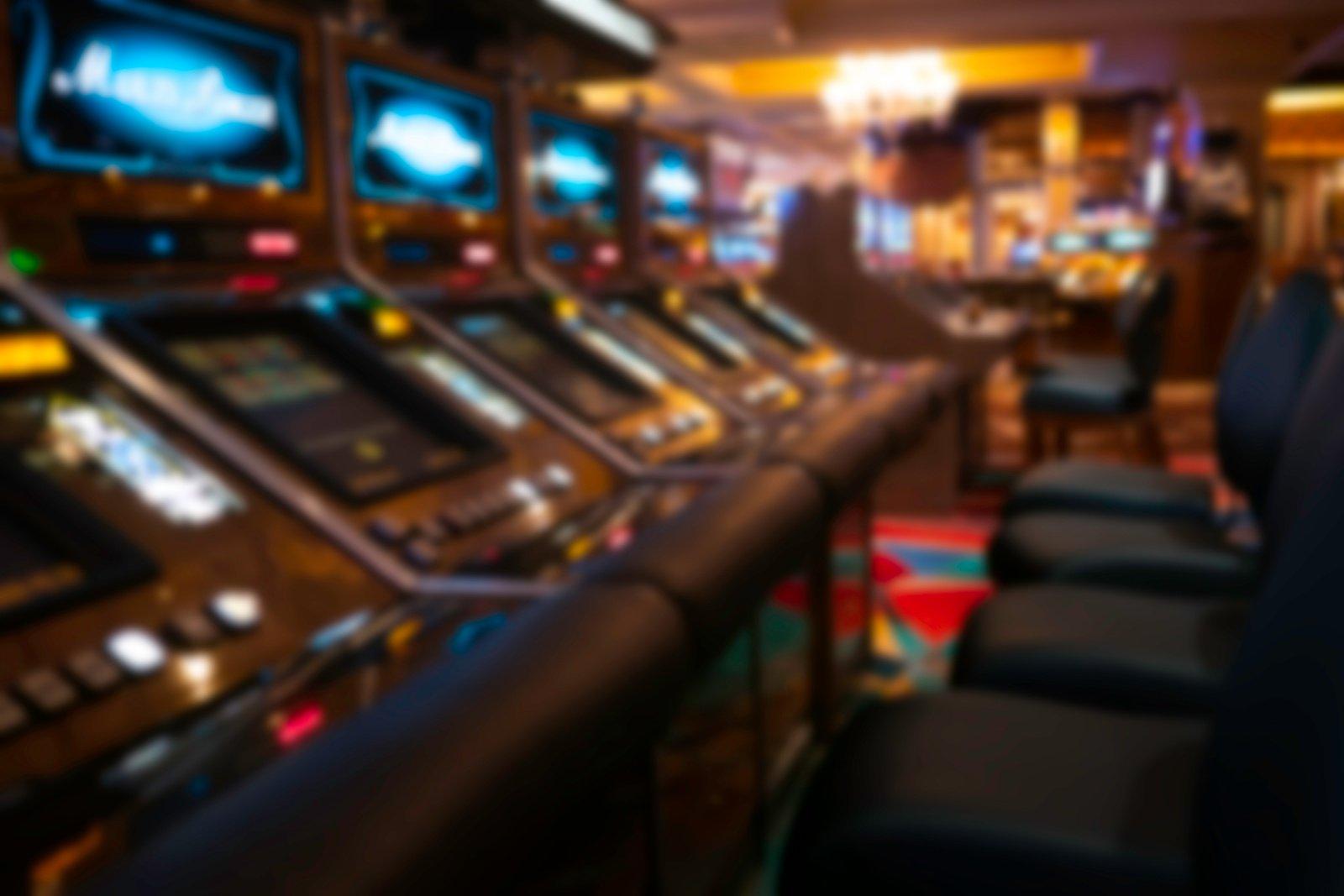 Biržuose sudaužytas lošimo automato ekranas