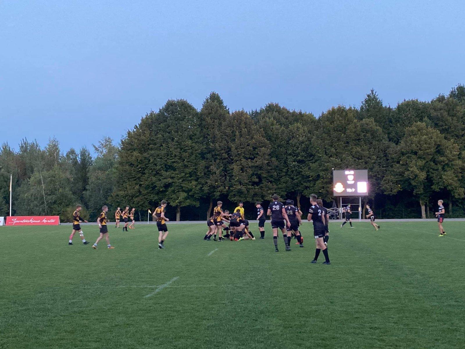 Jaunimo regbio pirmenybių pusfinalyje vietas užsitikrino visos trys Šiaulių ekipos