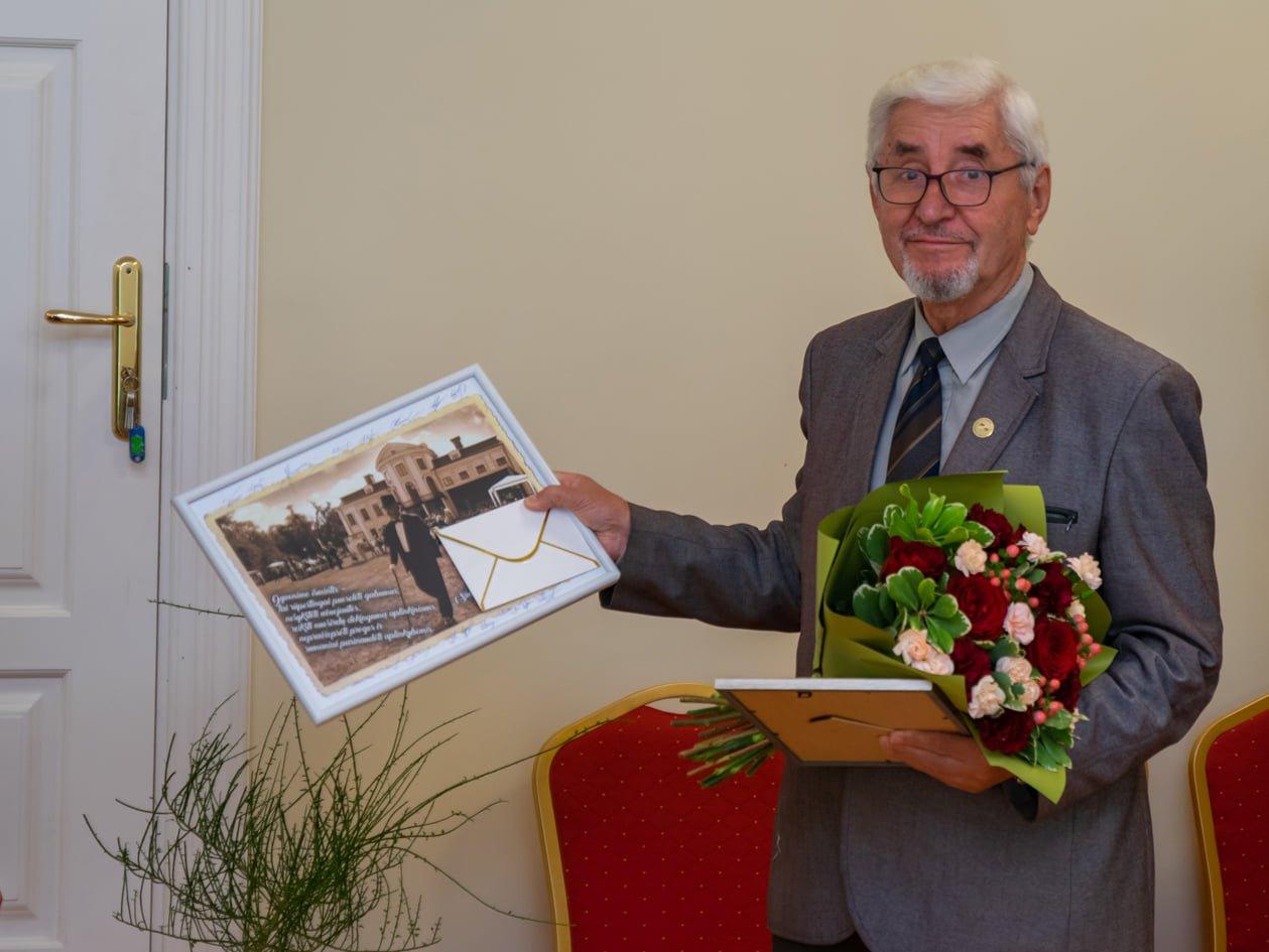 Atsisveikinta su buvusiu Vilkaviškio krašto muziejaus direktoriumi