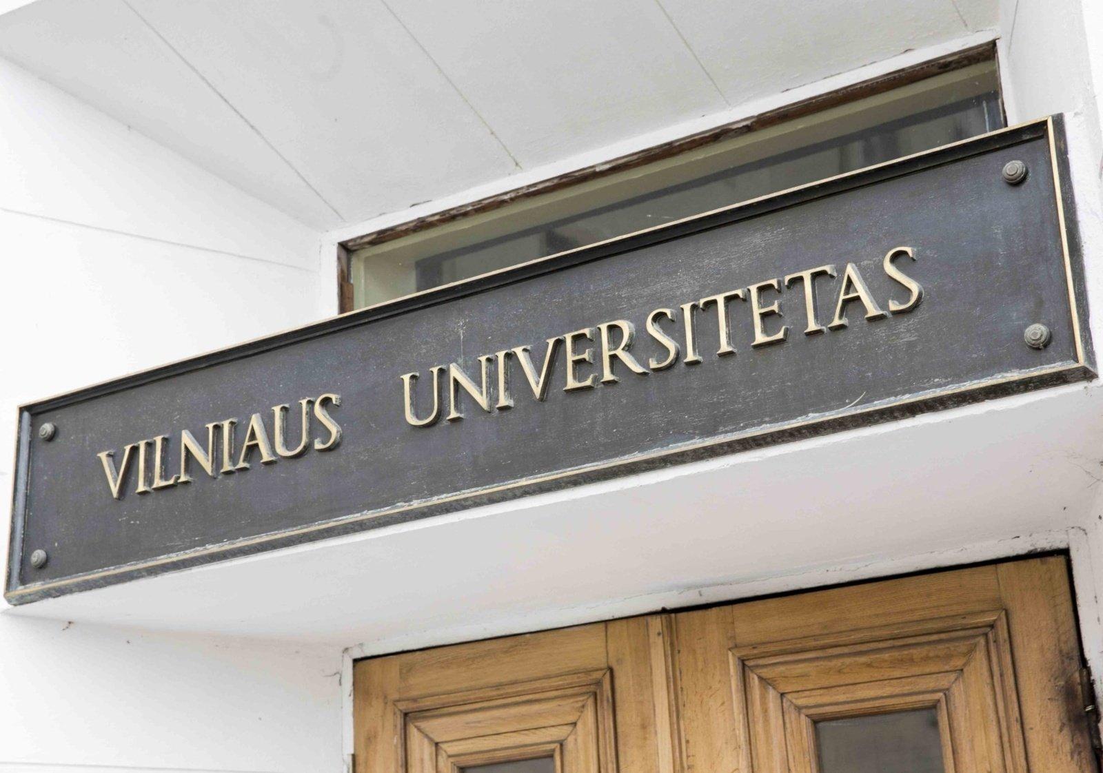 Vilniaus universiteto darbuotojai nustatytas koronavirusas, izoliuoti penki kolegos