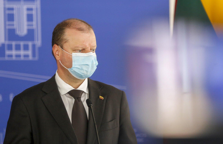 S. Skvernelis apie sprendimą įsigyti palapines-ligonines: turime būti pasiruošę, kad ligoninių nepritrūktų