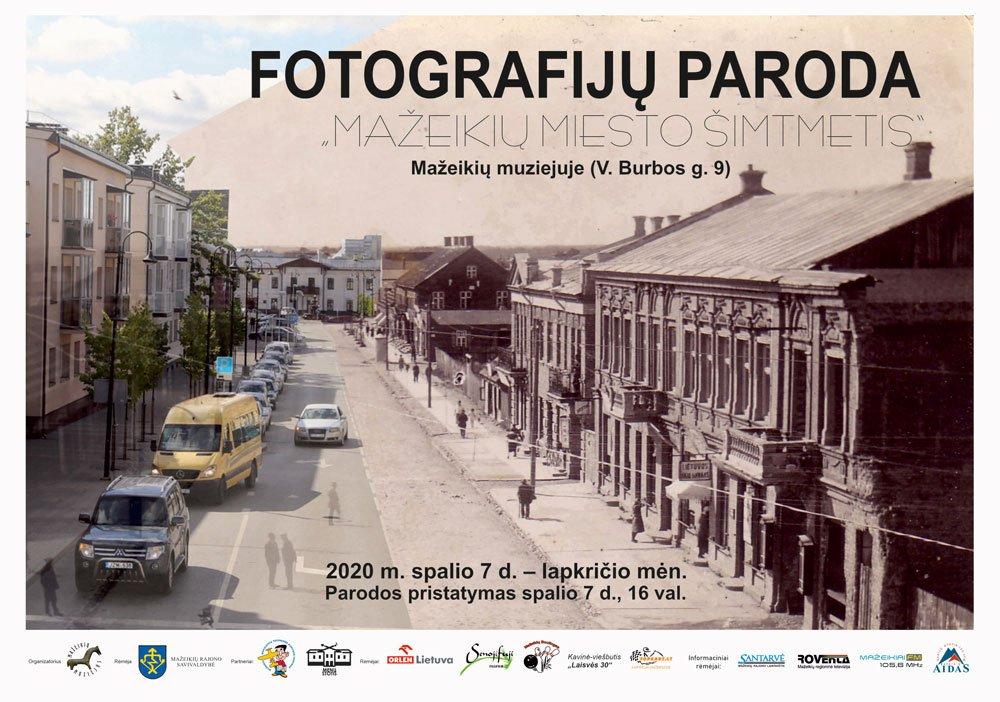 """Fotografijų paroda """"Mažeikių miesto šimtmetis"""""""